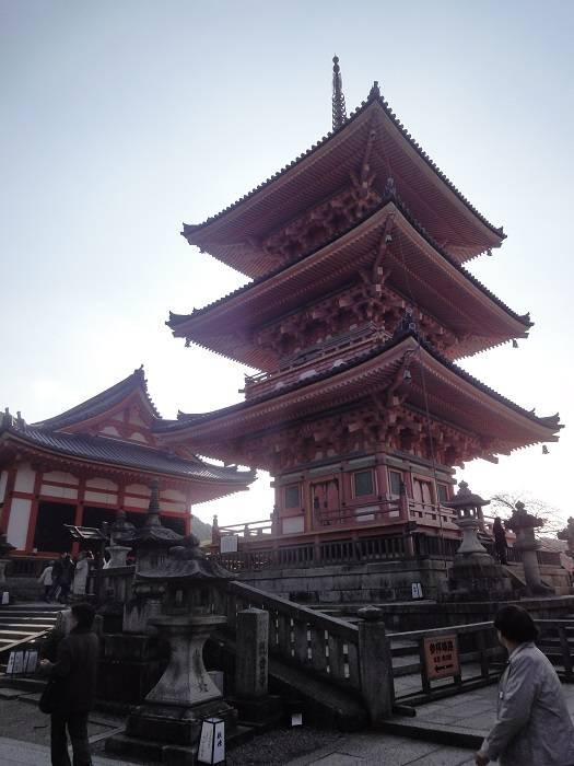 Kyoto Kizomizudera pagoda