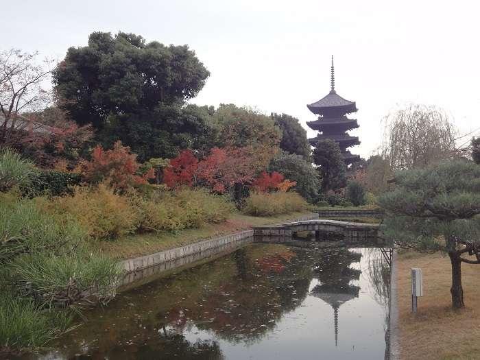 Kyoto. Toji-ji pagoda