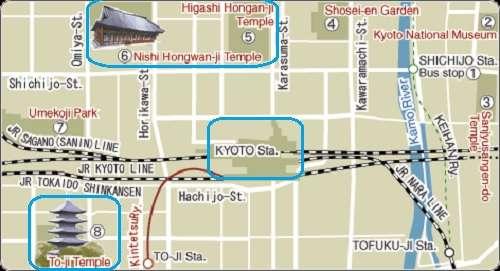 Mapa Estacion Tokyo y alrededores