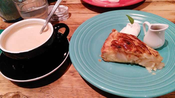 Granny Smith Apple Pie & Coffee Yokohama