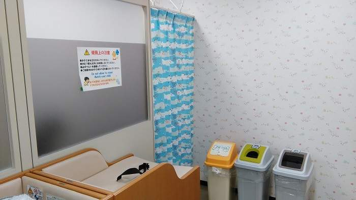 sala lactancia nursing room japon nagasaki aeropuerto