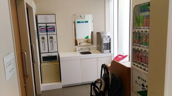 sala lactancia nursing room japon futako tamagawa