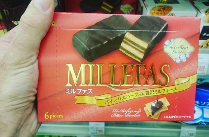 Chocolatina Mil lefas