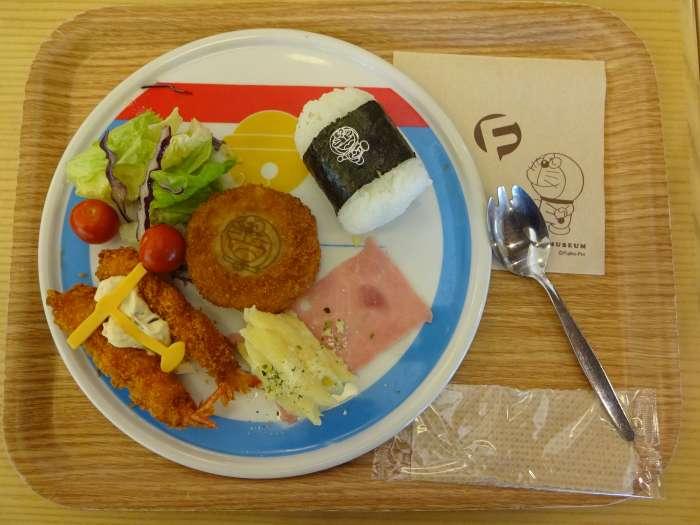 moriawase doraemon cafeteria