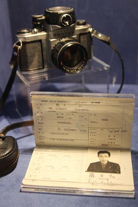 Pasaporte de Hiroshi Fujimoto autor Doraemon