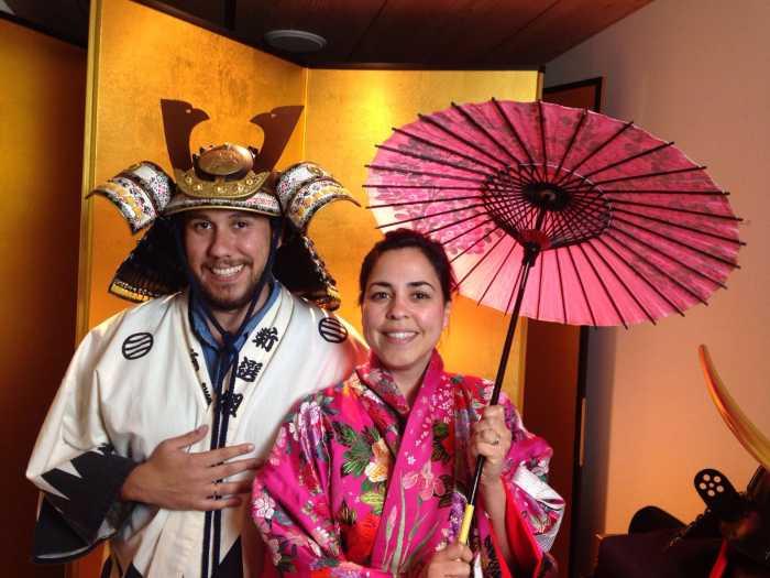 Ana y Fran en Japon