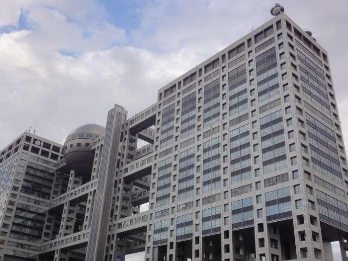 Fuji tv edificio exterior 01