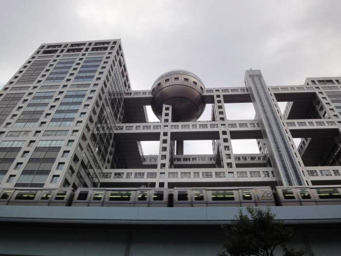 Fuji tv edificio exterior 02