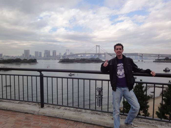 Odaiba, rainbow bridge y yo