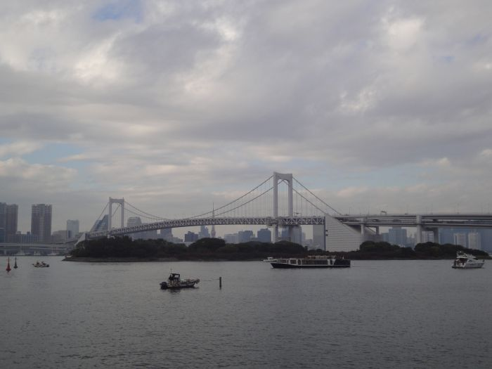 Odaiba y rainbow bridge