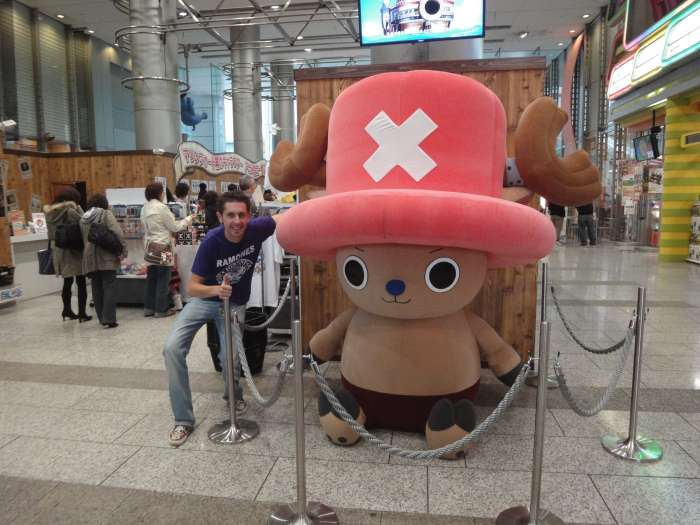 One Piece expo fuji tv con chopper
