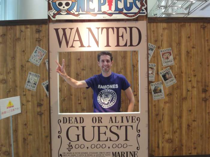 One Piece expo fuji tv wanted dear or alive se busca