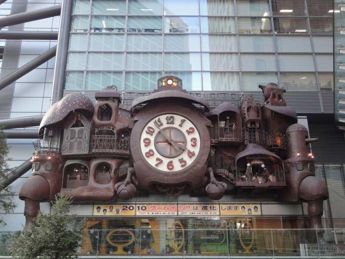 rejoj ghibli nippon tv NI-Tele Really BIG Clock