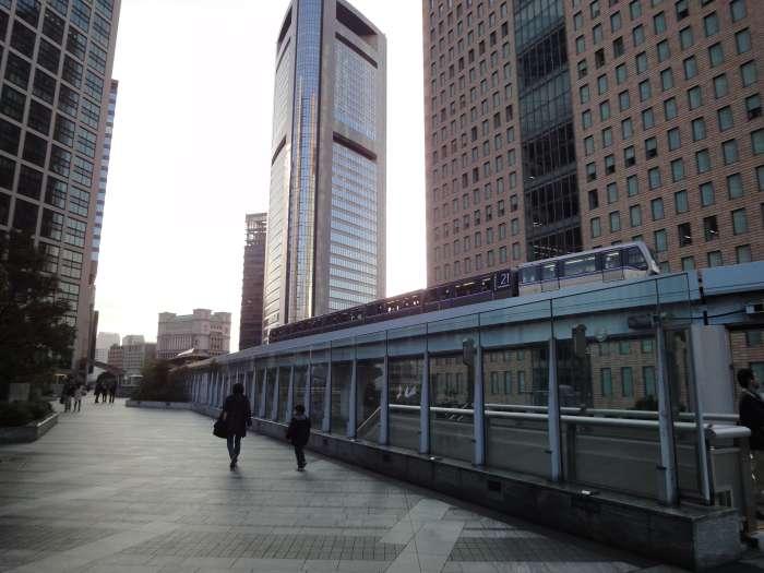 linea yurikamome odaiba tokyo