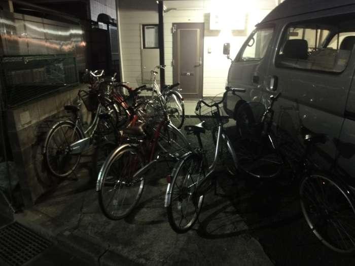 Bicicletas bloqueo casa