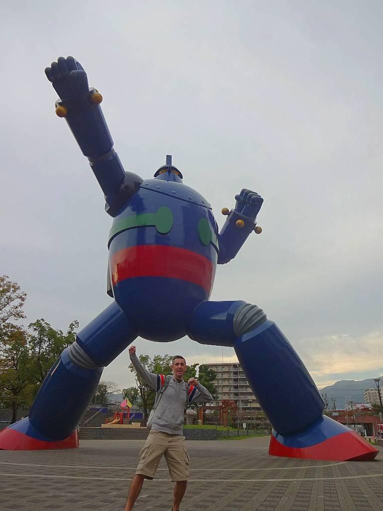 tetsujin 28 kobe estatua ivan