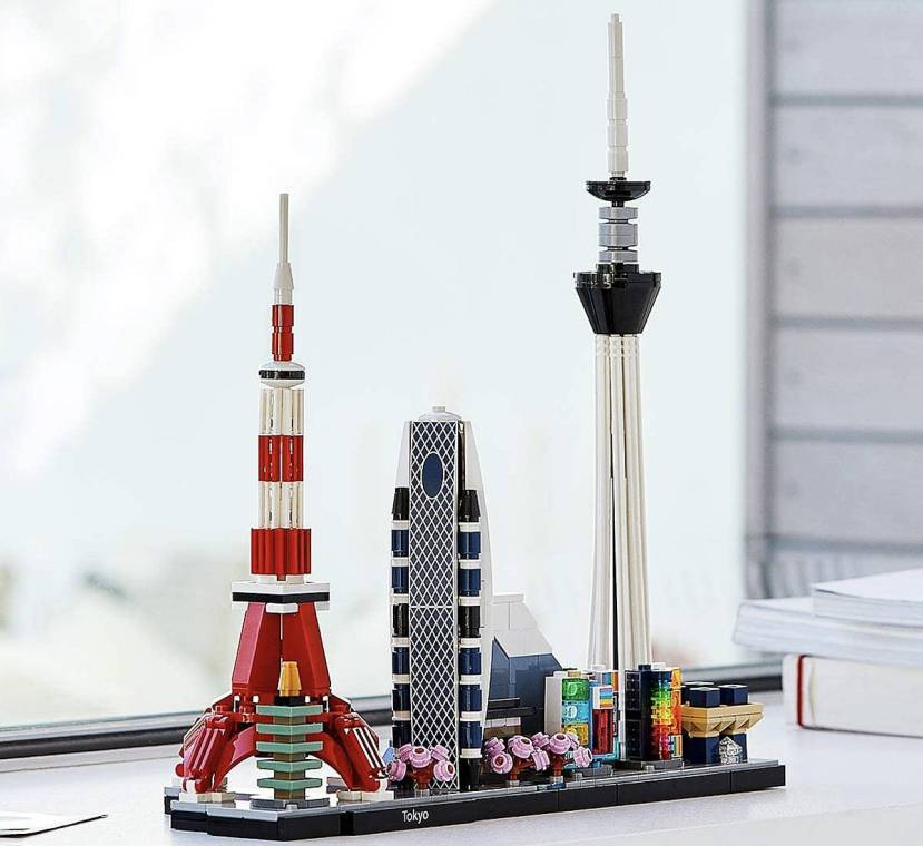 lego architecture tokyo tokio