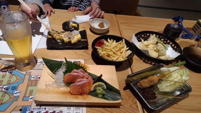 pedido restaurante tsuri kichi osaka