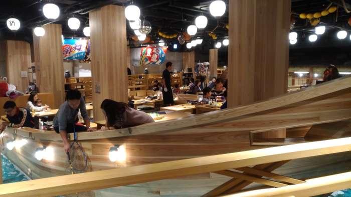 restaurante tsuri kichi osaka - barco inferior izquierdo lateral