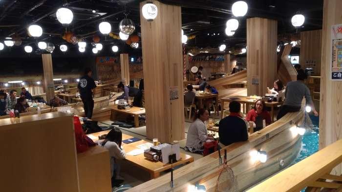 restaurante tsuri kichi osaka - barco inferior izquierdo