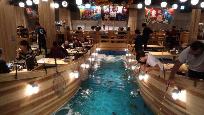 restaurante tsuri kichi osaka - pescando 01