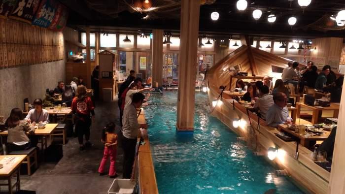 restaurante tsuri kichi osaka - pescando 05