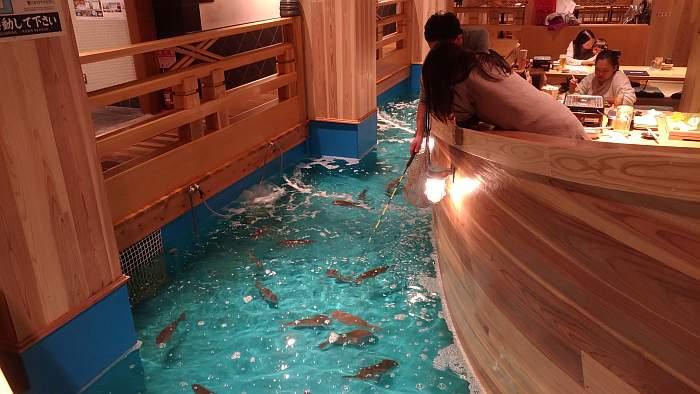 restaurante tsuri kichi osaka - pescando 06