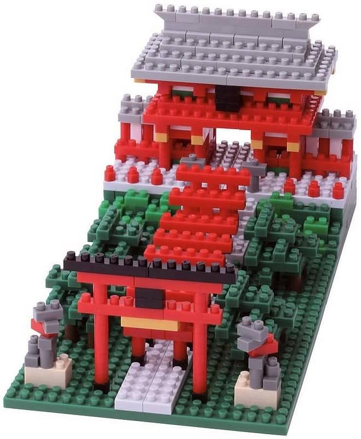 santuario fushimi inari nanoblock