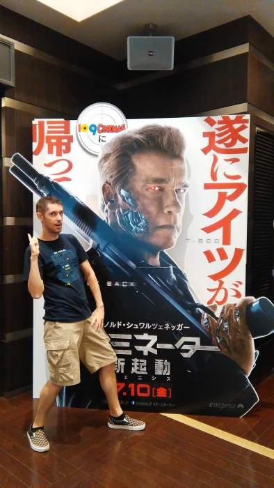 Arnold Schwarzenegger terminator japon
