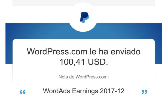 Wordpress WordAds pago paypal