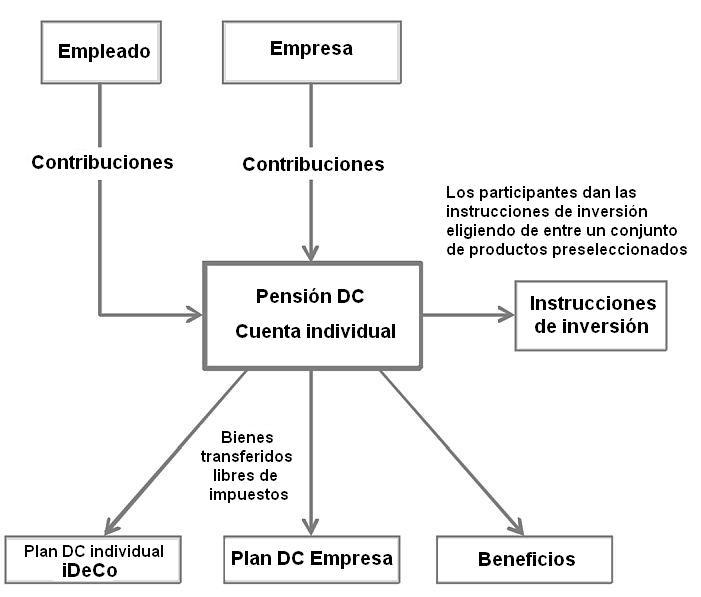 estructura-defined-contrinution-plan-pensiones-privada-japon