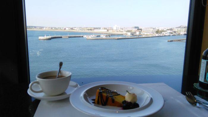 enoshima island spa cafe postre