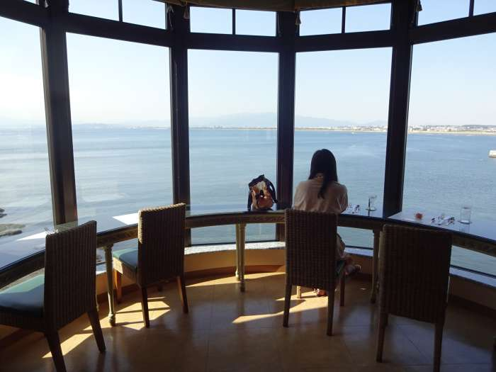 enoshima island spa vistas mar