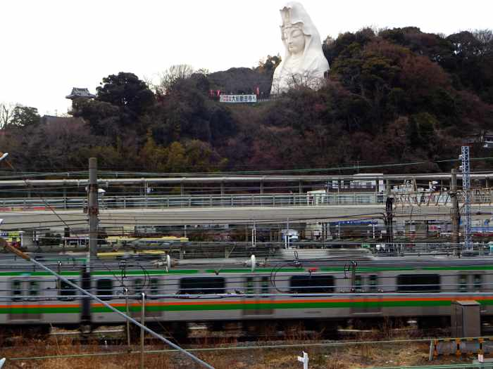 ofuna Kannon estatua buda