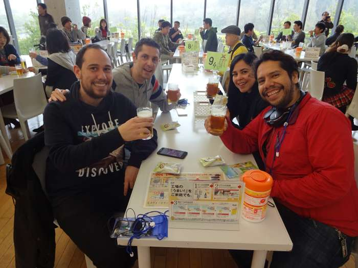 asahi beer fabrica amigos