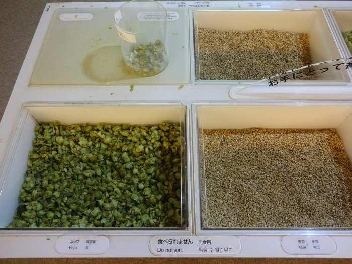 ingredientes cerveza asahi lupulo hops