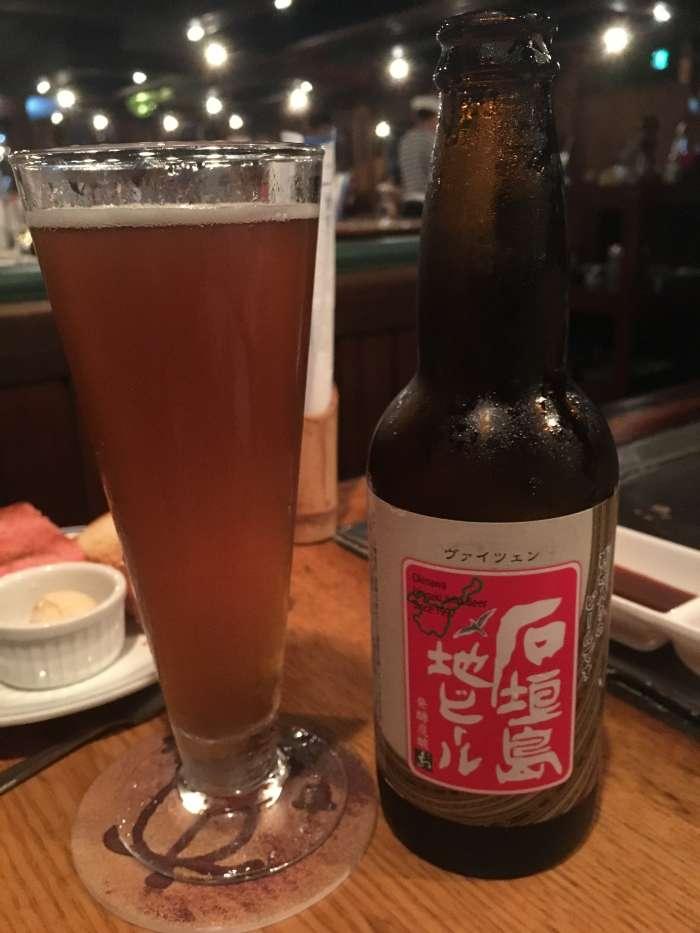cerveza ishigaki artesanal
