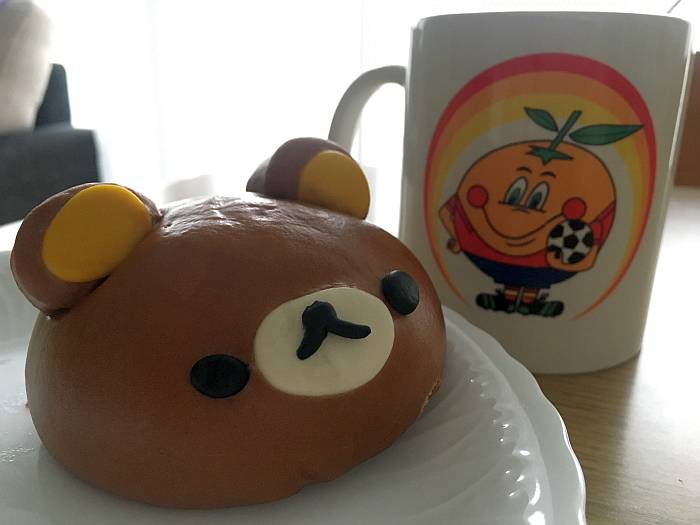 rilakkuma chocolate naranjito