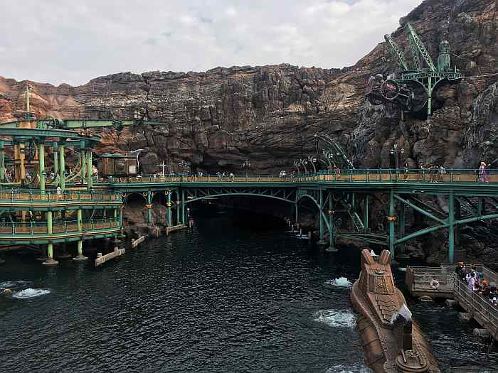 Mysterious Island disney sea