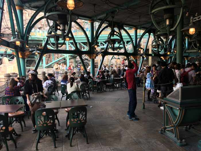 restaurante nautilus disney sea