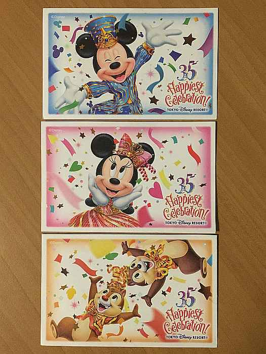 tickets 35 aniversario disney sea japon