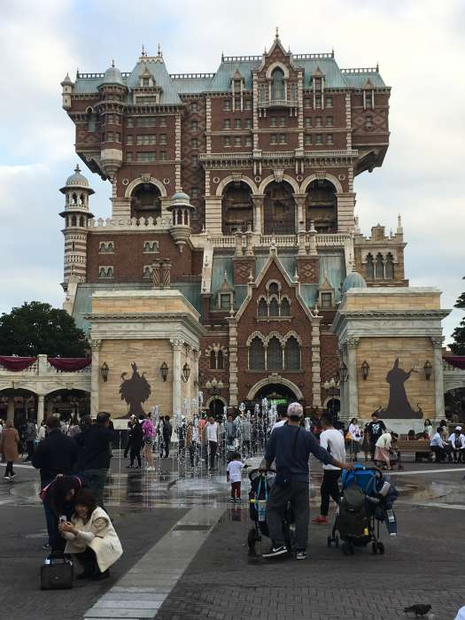 tower of terror disney sea