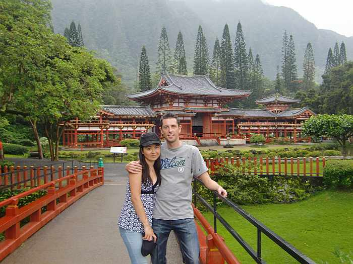 byodo-in hawaii con meg