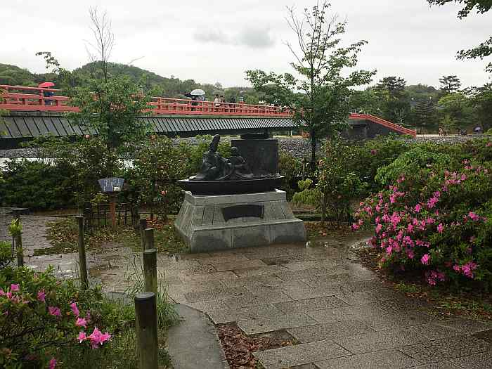kyoto rio uji byodo-in puente