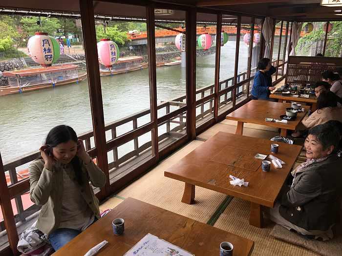 kyoto rio uji byodo-in restaurante