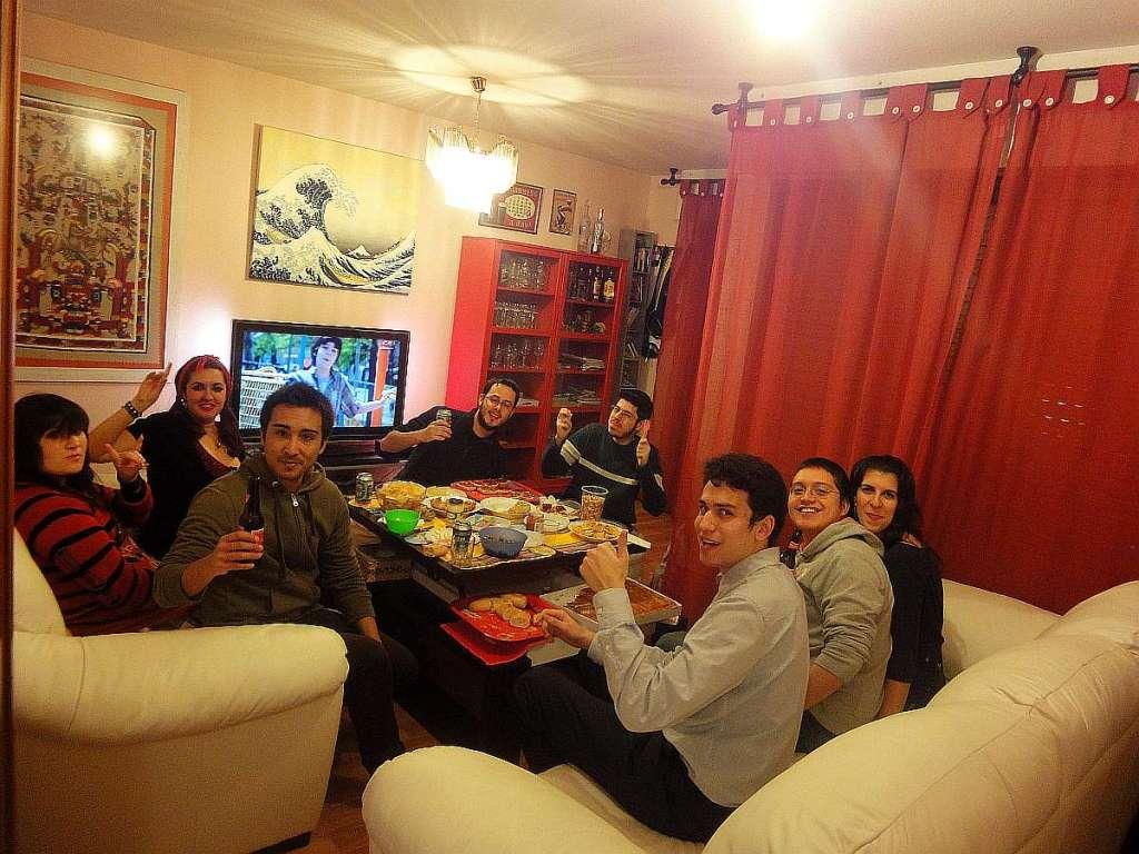 fiesta compañeros japonés escuela oficial idiomas madrid