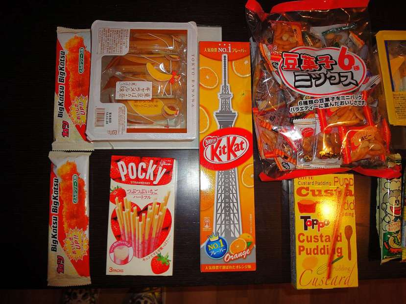 regalos japon chucherias pocky
