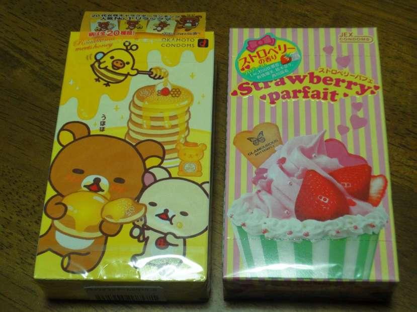 regalos japon condones japoneses