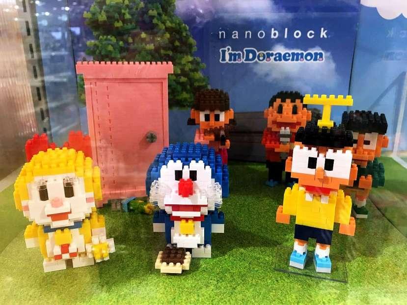 regalos japon doraemon nanoblock