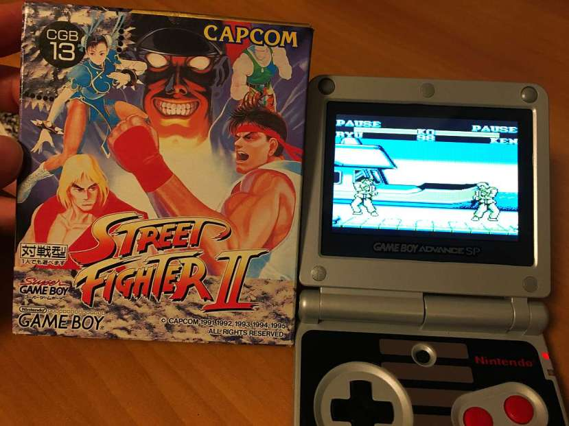 regalos japon juegos retro street fighter 2